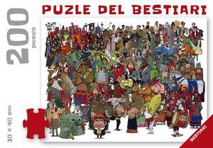 EL PUZLE DEL BESTIARI 200 PECES