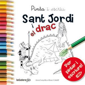 PINTA I ESCRIU SANT JORDI I EL DRAC