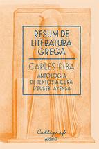 RESUM DE LITERATURA LLATINA