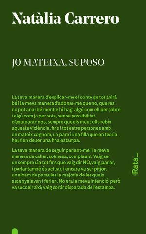 JO MATEIXA, SUPOSO