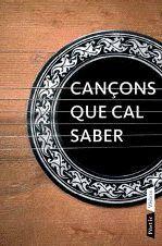 CANÇONS QUE CAL SABER