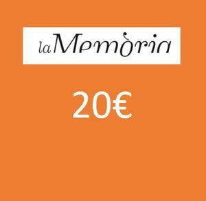 XEC REGAL PER LLIBRES 20 EUROS