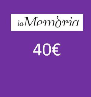 XEC REGAL PER LLIBRES 40 EUROS