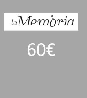 XEC REGAL PER LLIBRES 60 EUROS